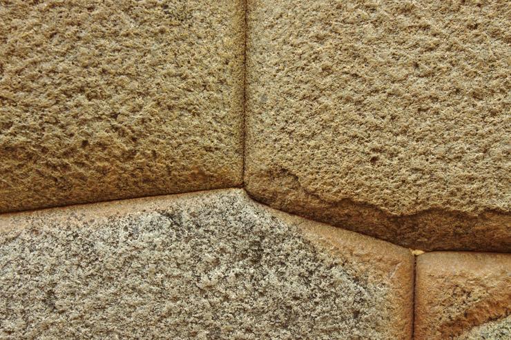 インカの石組み
