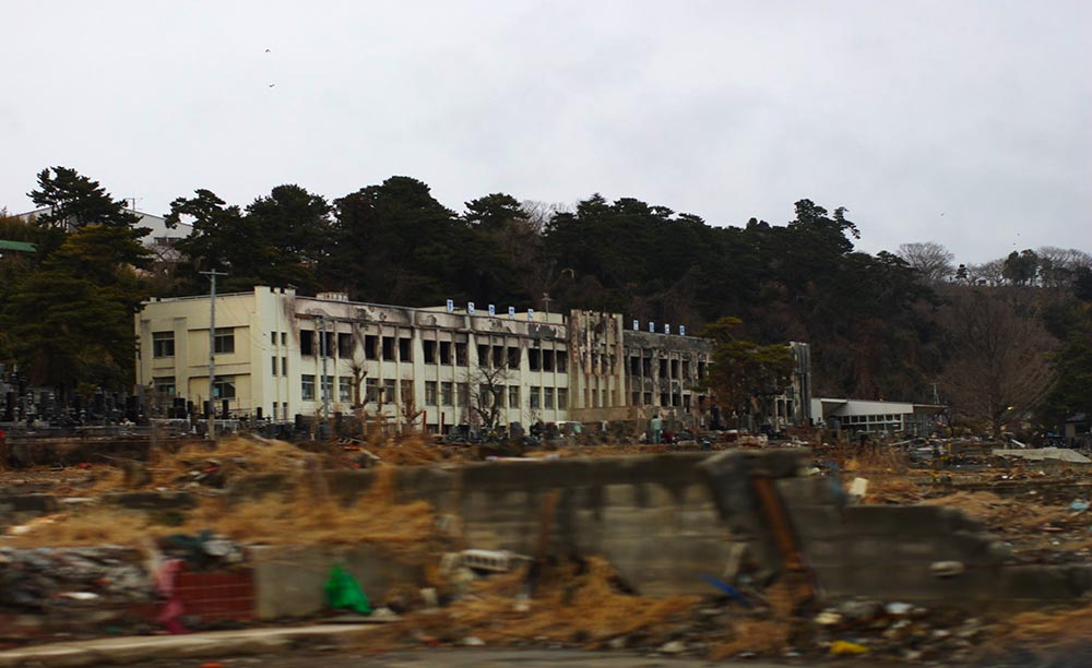 3.11から一年後の仙台 | 東日本大震災の跡地