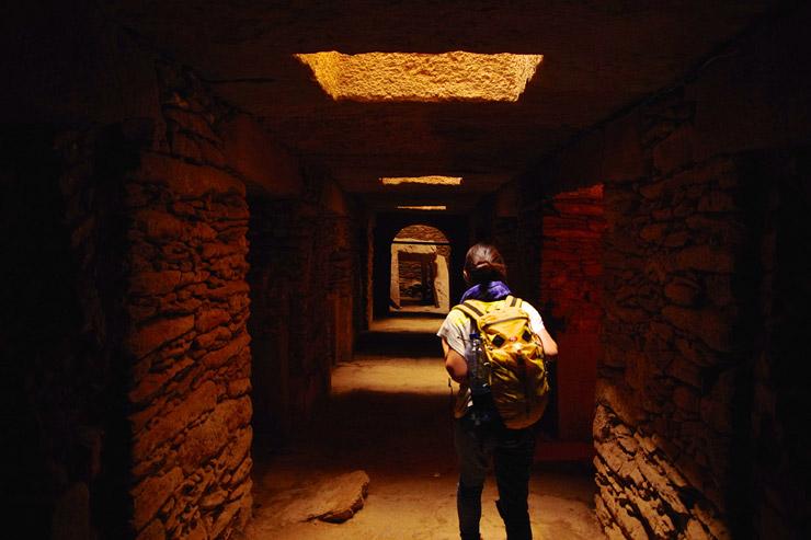オベリスクの地下