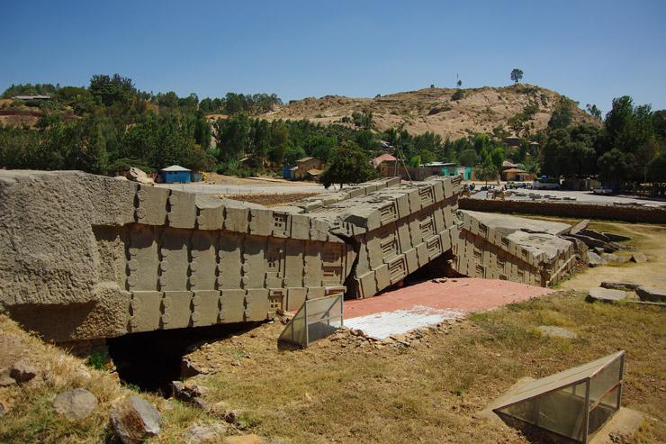 『アクスムの考古遺跡群』とオベリスク