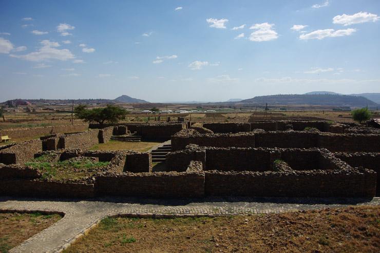 シバ女王の宮殿跡