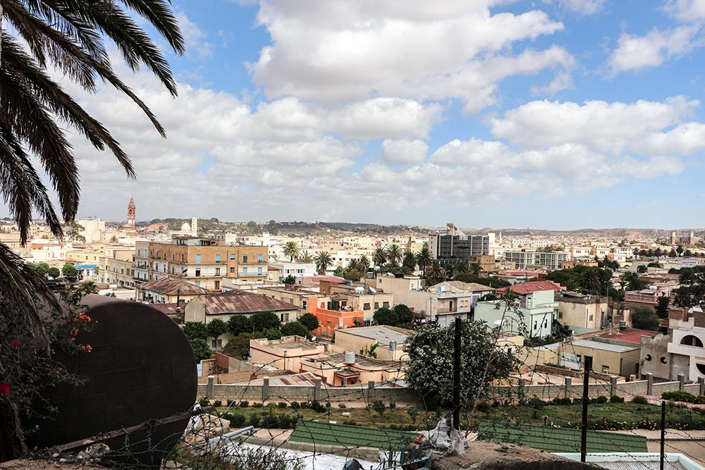 エリトリアの世界遺産『アフリカの近代都市アスマラ』