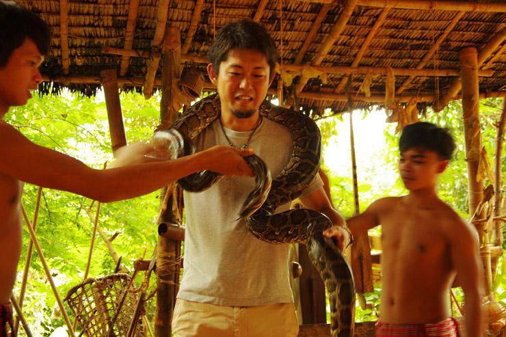 パラワンの大蛇