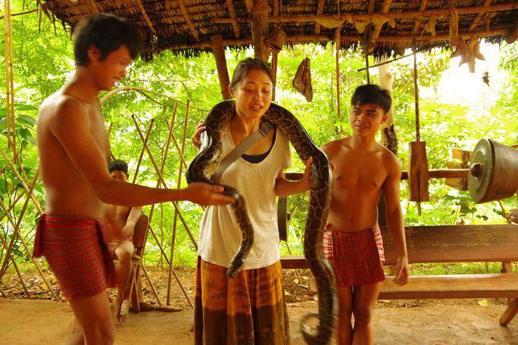 パワランのヘビ