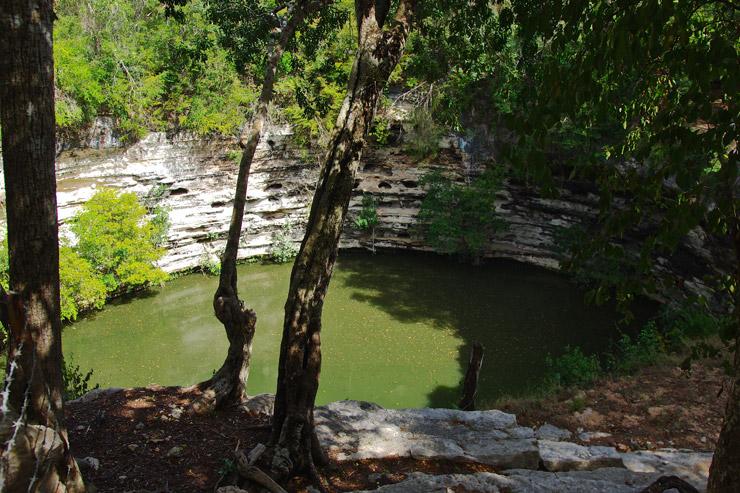 セノーテ(聖なる泉)