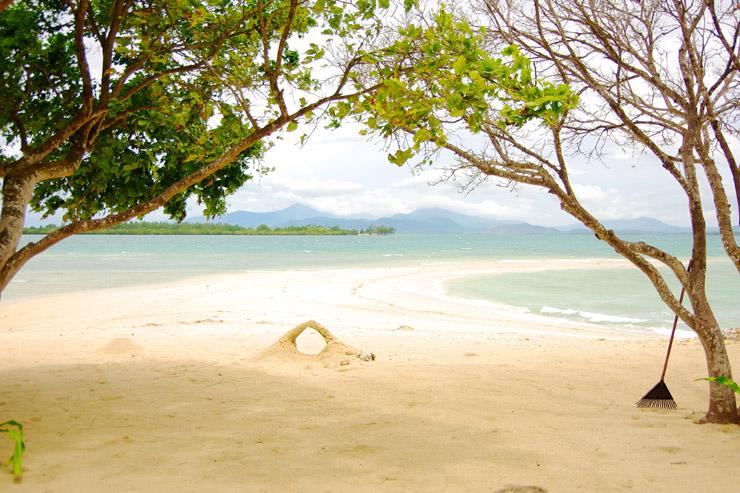 ホンダベイの無人島