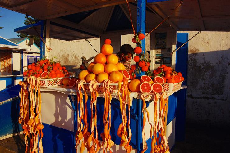 オレンジジュース屋さん