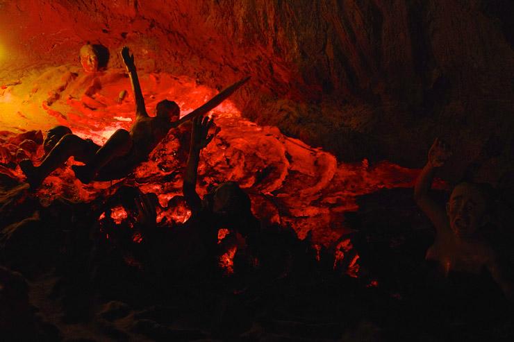 タイガーバームガーデン(Haw Par Villa)の奇妙な地獄絵図