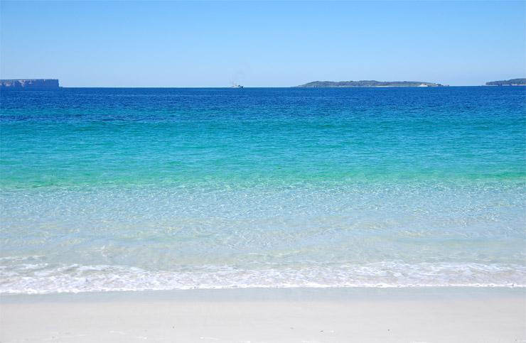 ハイアムズ・ビーチ(Hyams Beach)