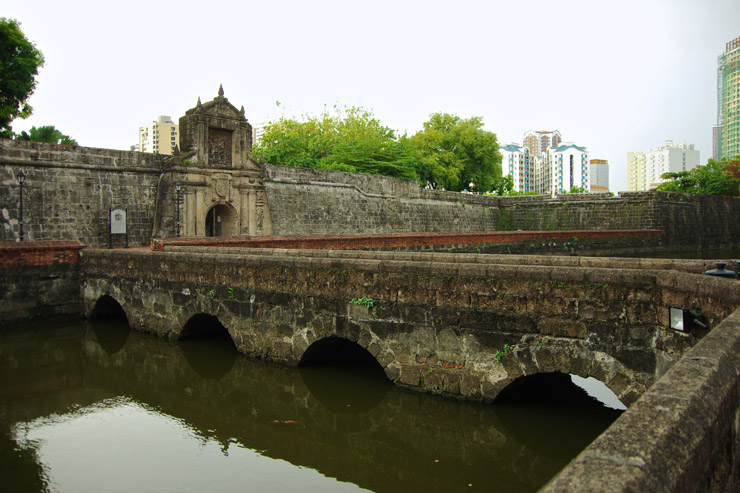 サンティアゴ要塞(Fort Santiago)