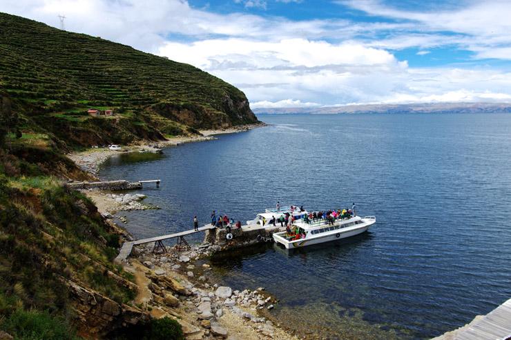 チチカカ湖に浮かぶ太陽の島『Isla del Sol』