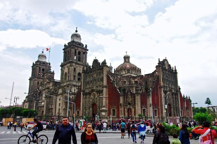 メキシコシティ・メトロポリタン大聖堂 | メキシコシティ歴史地区
