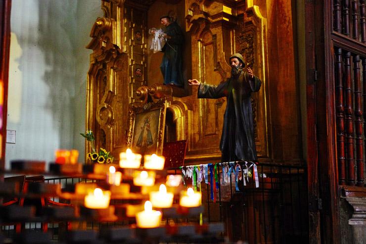 メキシコシティ・メトロポリタン大聖堂の内部