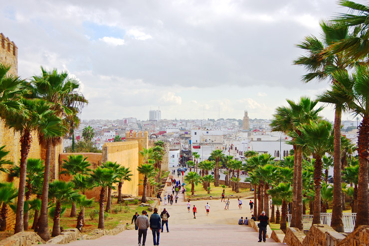 ラバト:近代都市と歴史的都市が共存する首都 | モロッコの世界遺産