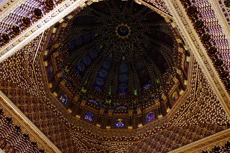 ムハンマド5世廟の美しい天井