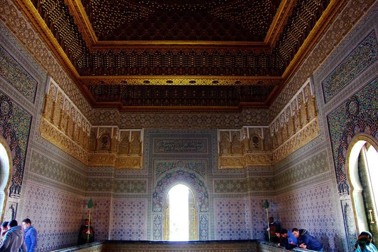 ムハンマド5世廟の内部