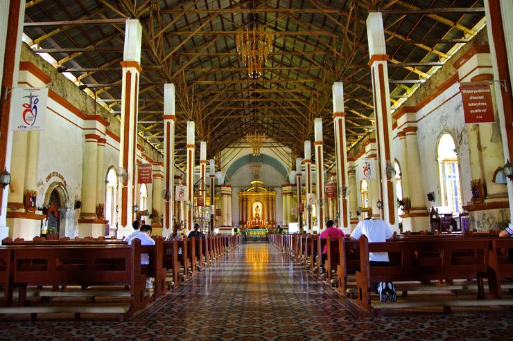 パオアイのサン・オウガスチン教会の中