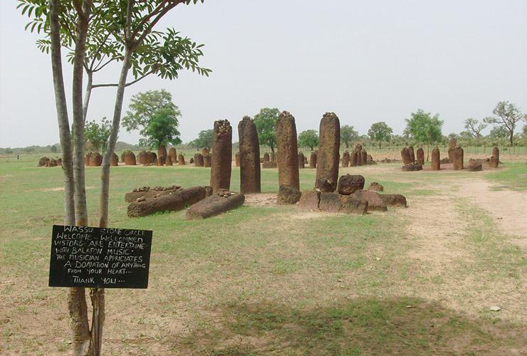 セネガンビアのストーン・サークル群