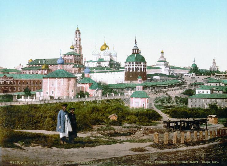 セルギエフ・ポサドのトロイツェ・セルギー大修道院の建造物群