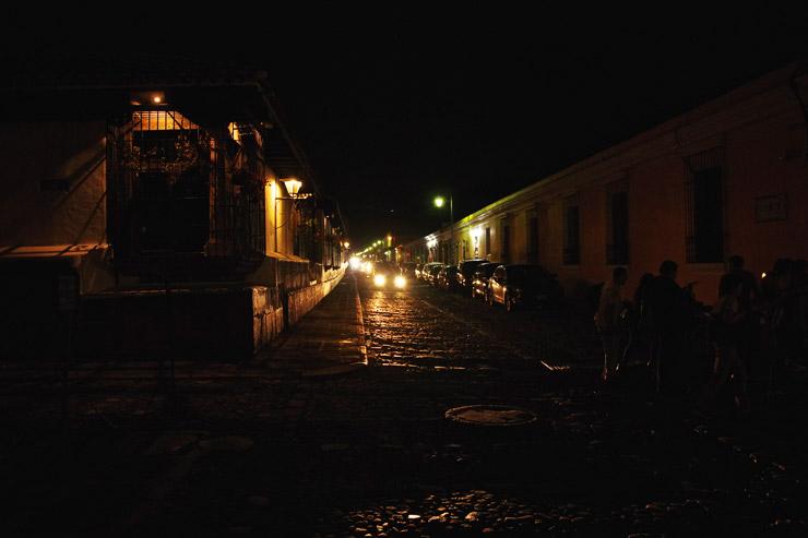 アンティグアの夜景