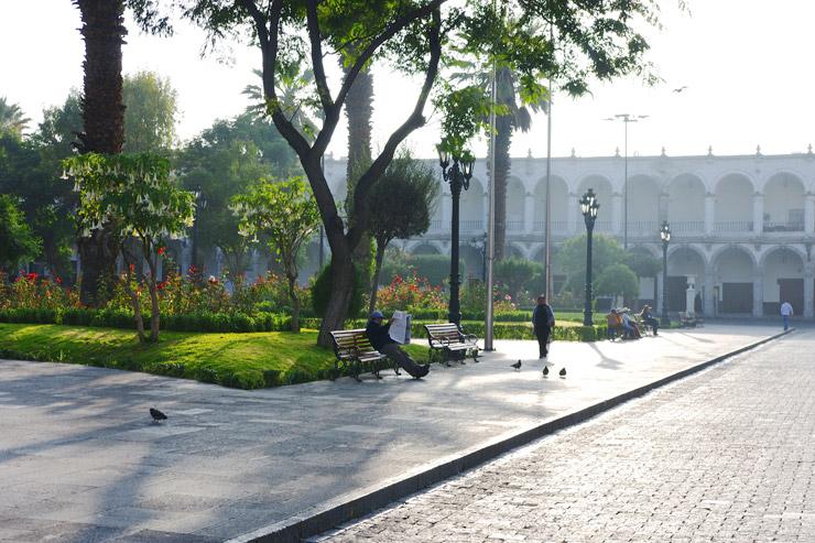 アレキパ市の歴史地区