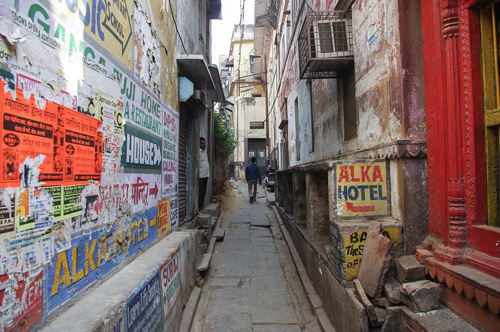 ベナレスの街並み