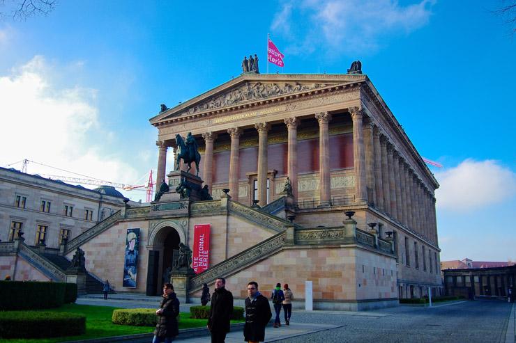 旧国立美術館 (旧ナショナルギャラリー、Alte National Gallerie)