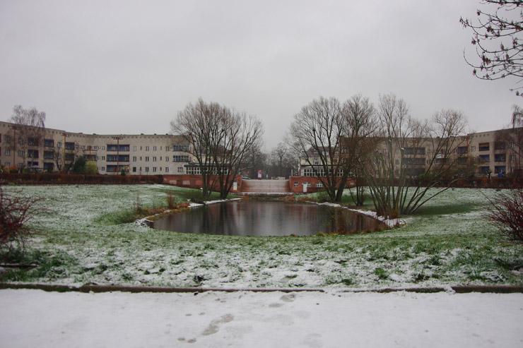 ブリッツ集合住宅 (Großsiedlung Britz – Hufeisensiedlung)
