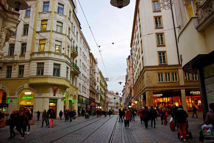 ブルノ旧市街