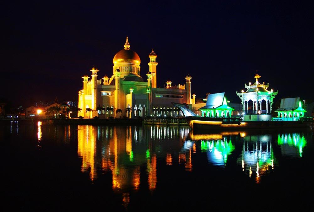 ブルネイのオールドモスク