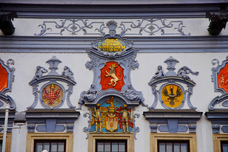 チェスケー・ブジェヨビツェの旧市街