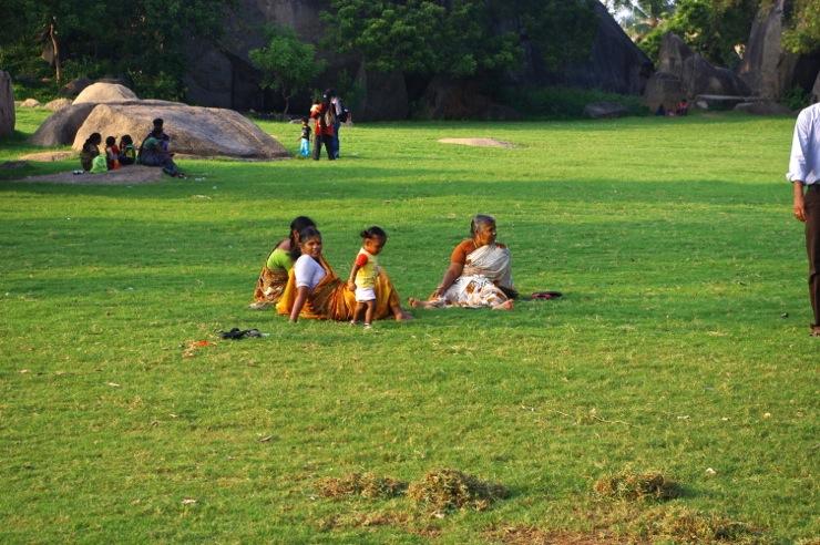 インド人の憩いの場