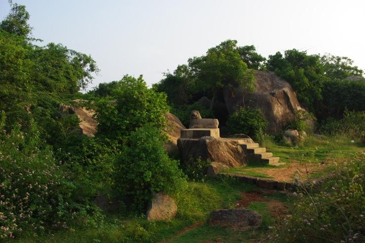マハーバリプラムの遺跡