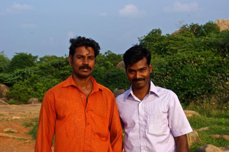 マハーバリプラムのインド人