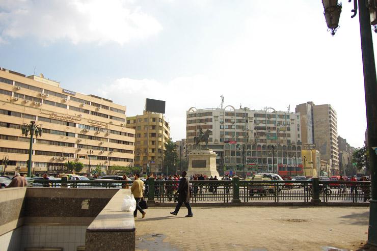 エジプト、カイロの街並