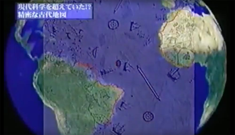 ピリ・レイスの地図は空から見た衛星写真と一致?