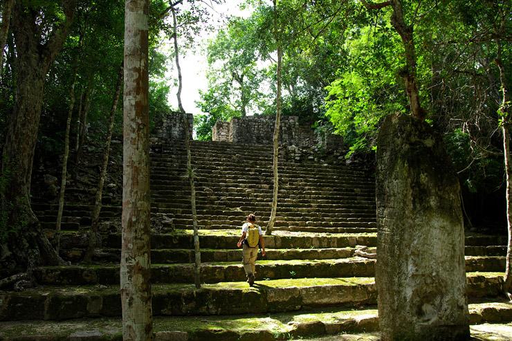 カンペチェ州カラクムルの古代マヤ都市と熱帯保護林 | メキシコの世界遺産