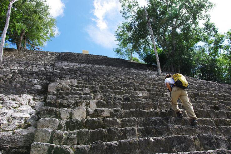 カラクムル遺跡 ピラミッド