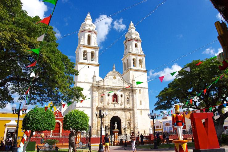 カンペチェ歴史的要塞都市 | メキシコの世界遺産