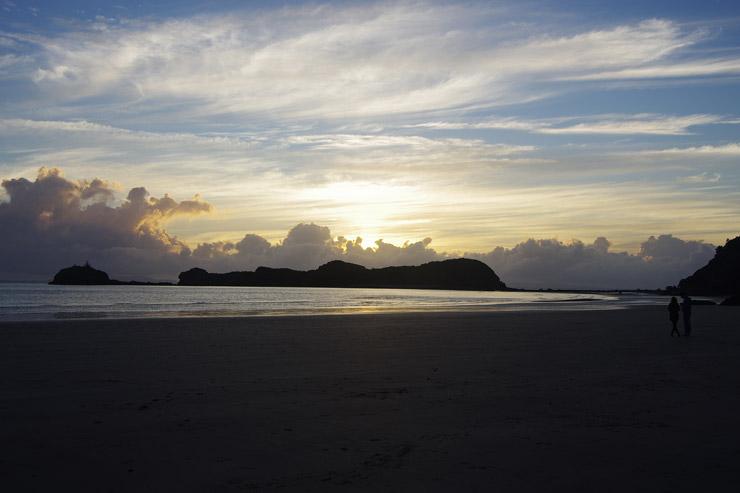 カンガルービーチの夜明け
