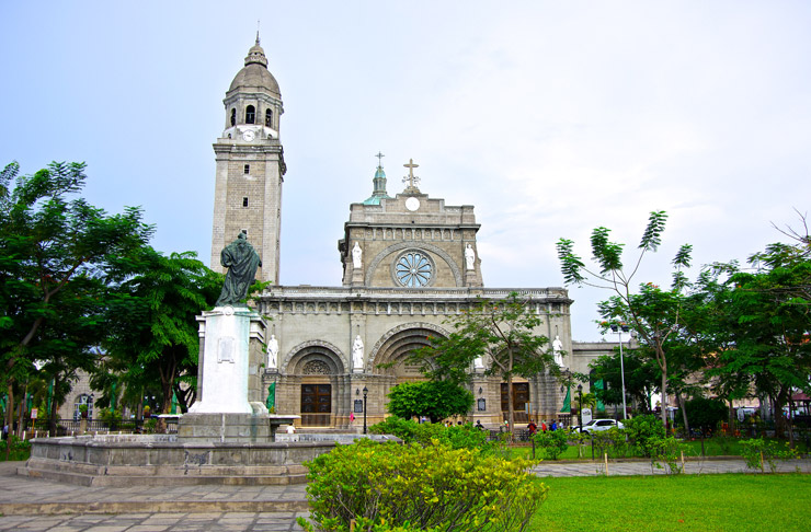 マニラ大聖堂(cathedral of manila)