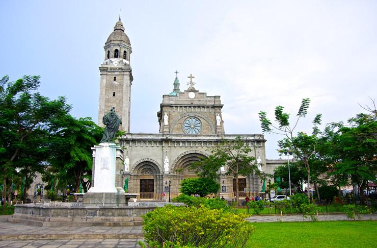 マニラ大聖堂(cathedral of manila)