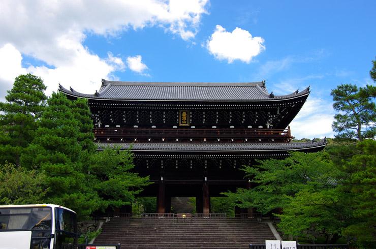 知恩院の国宝 三門