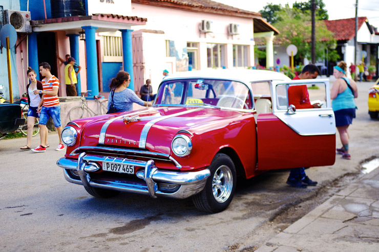 キューバのクラシックカー