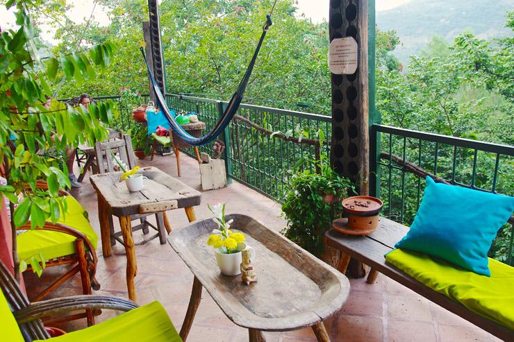 ホンジュラスのコパン・ルイナス   超オススメのカフェ『The Tea & Chocolate Place』