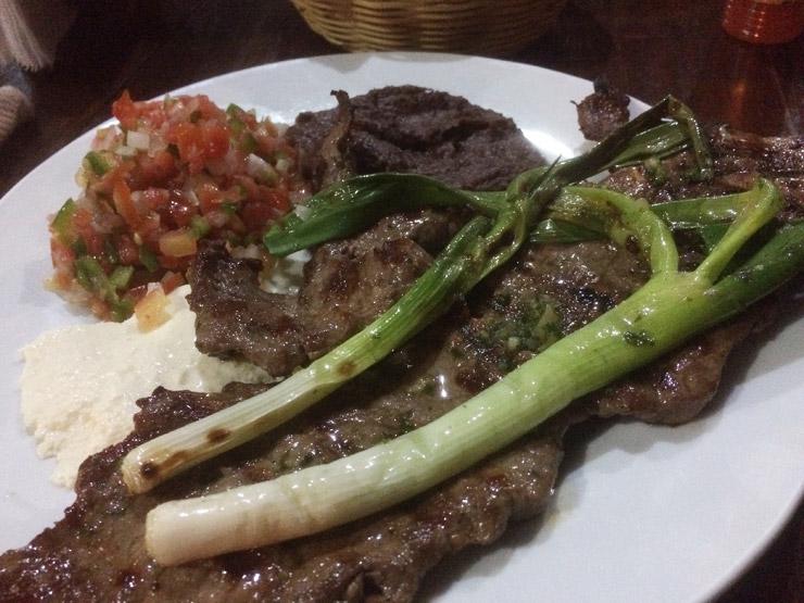 ホンジュラスで食ったステーキ