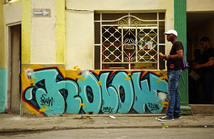 キューバのグラフティアート