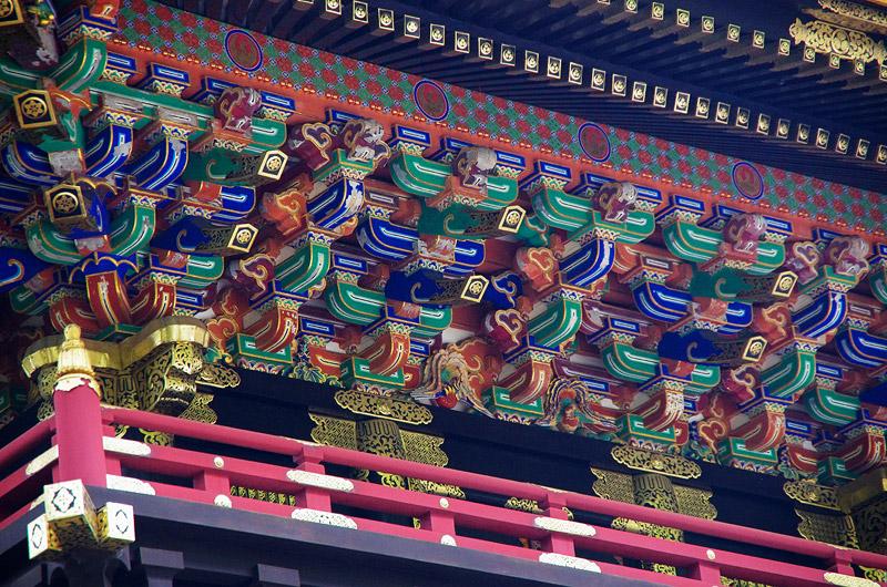 カラフルなお寺