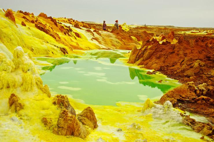 『ダロール火山』| ダナキル砂漠ツアー