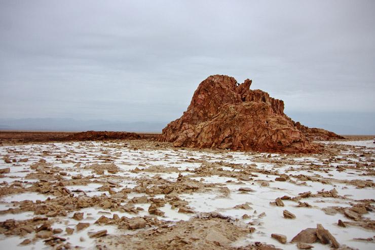 塩で出来た山